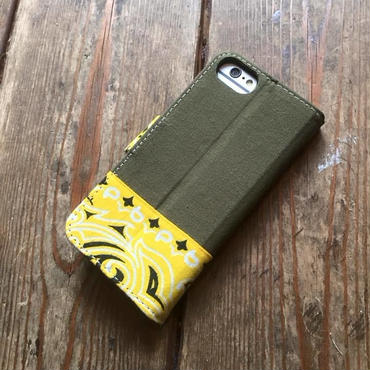 Bandanna x O.D. Green  iPhone6/6s, 7 & 8 Case, Yellow