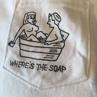 "VINUP Nam Pocket TEE Shirts, ""Where'sTheSoap"""