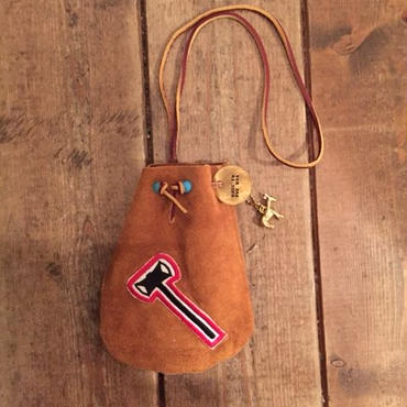 US Made Suede Pouch