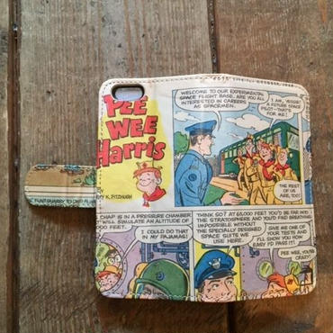 "Vintage Ad iPhone6/6s Case, ""Pee Wee Harris-1"""