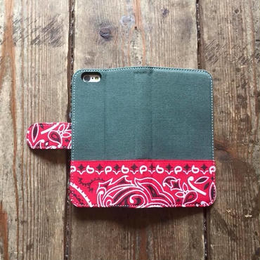 旧モデルサンプルSALE!!Bandanna x O.D. Green  iPhone6/6s Case, Red