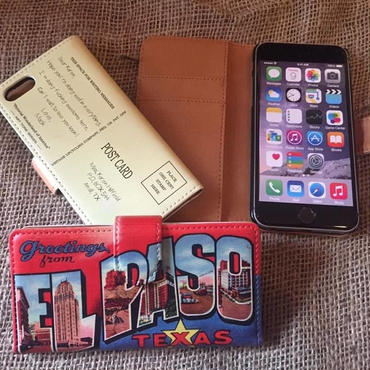 40's Souvenir Poscard iPhone7 & 8  Case, El Paso