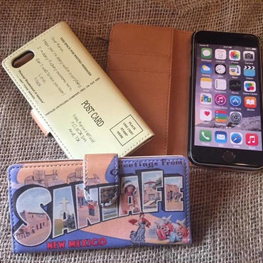 40's Souvenir Poscard iPhone7& 8 Case, Santa Fe