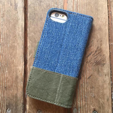 Vintage Denim + US Military Tent iPhone6/6s, 7 & 8 Case