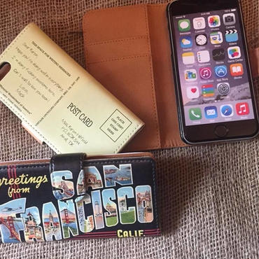 40's Souvenir Poscard iPhone7 & 8 Case, San Francisco