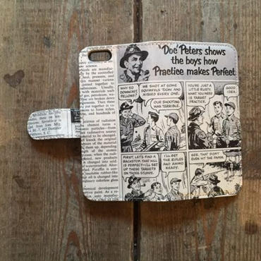 "旧モデルSALE!Vintage Ad iPhone6/6s Case, ""Doc Peters"""
