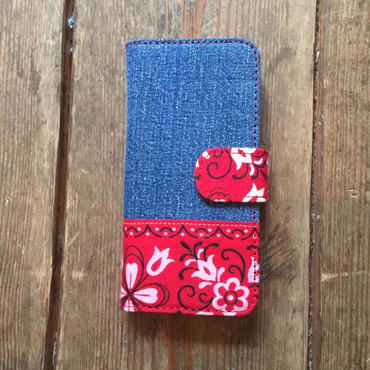 Vintage Denim + Vintage Bandana iPhone6/6s, 7 & 8 Case