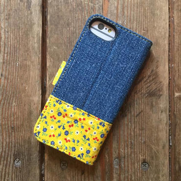 Vintage Denim + Vintage Feedsack iPhone6/6s, 7 & 8 Case