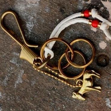 50's Donkey Charm Keychain