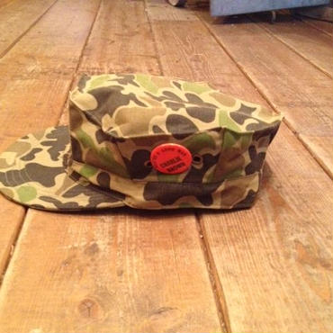 Vintage Duck Hunter Camo Cap