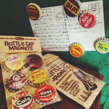 Vtg Bottlecap Magnets