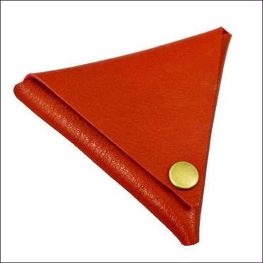 コインケース メンズ レディース 本革  牛革 デルタレザーコインケース 日本製 RED 10007794