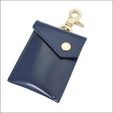 レザー(牛革)携帯灰皿 NAVY 10007573