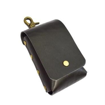 ヒートスティック型タバコ レザー iQOS ケース アイコスケースレザー アイコスケース革 iqosケース BLACK 本革 日本製 ハンドメイド 10007384
