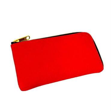 牛革 ペンケース RED メンズ レディース 本革 シンプル 10007427