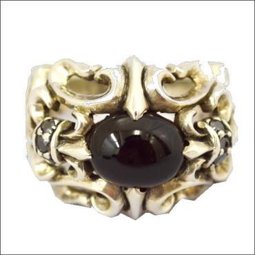 オニキス 指輪 シルバー925 オニキスリング M 10007877