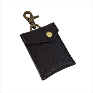 レザー(牛革)携帯灰皿 ブラック 10005503