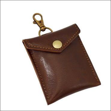 レザー(牛革)携帯灰皿 BROWN 10007689