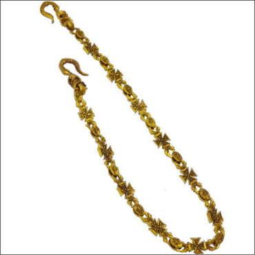 ウォレットチェーン 真鍮 (しんちゅう)クロス メンズ 10006151