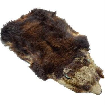熊革 熊の毛皮 1頭 10007893