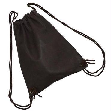 山羊革 リュック ナップサック 本革 ゴートスキン 巾着型 18110101
