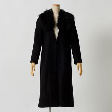 アストラカンウールコート(ブラック)