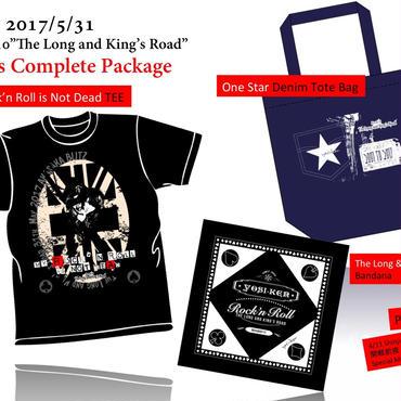 【特別追加注文6/15thu 23:59まで】ヨシケン赤坂BLITZ「The Long and King's Road」Goods Complete Package