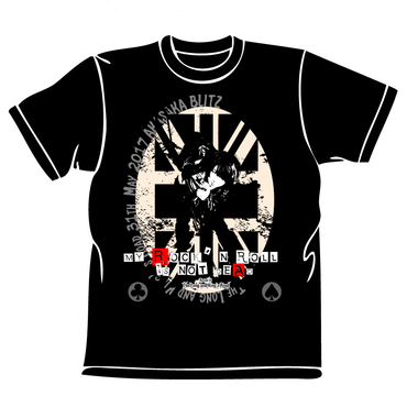 【特別追加注文6/15thu 23:59まで】ヨシケン5/31赤坂BLITZ「My Rock'N Roll is Not Dead」TEE
