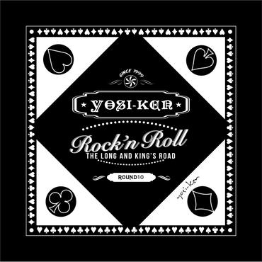 【特別追加注文6/15thu 23:59まで】ヨシケン5/31赤坂BLITZ「The Long & King's Road 」BANDANA