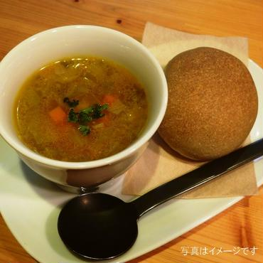 スープ4袋+天然酵母パン4個セット