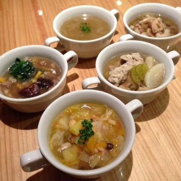 スープ10種セット+天然酵母パン10個セット
