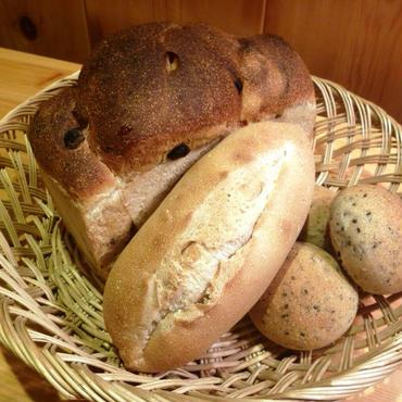 天然酵母パン1000円セット