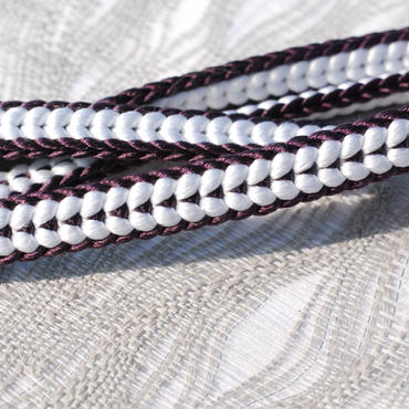 三分紐(濃紫)