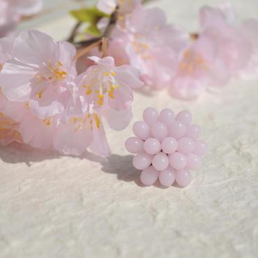 桜色の帯留