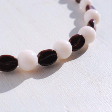 【男性】珈琲豆の羽織紐(カフェオレ)
