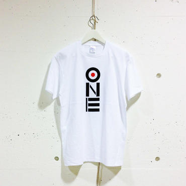 ONE-Tシャツ(white/ベーシック)