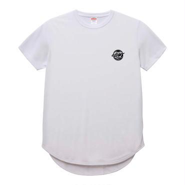 ワンポイント Tシャツ 【ホワイト/ブラック】