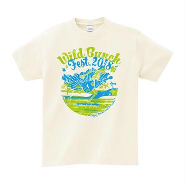 スケボースカル Tシャツ 【アイボリー /ネイビー】