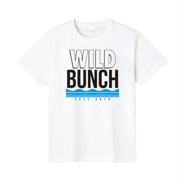 ウェーブ Tシャツ 【ホワイト/ブラック】