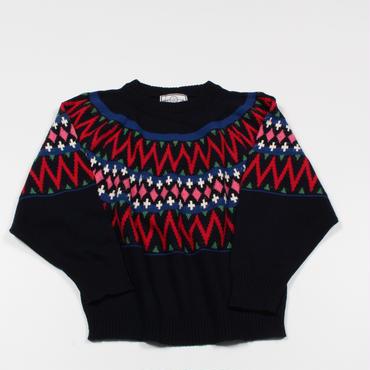 <70-25002>WILLOW ジャガードセーター(WOMAN)