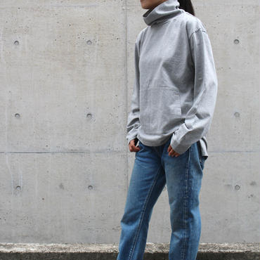 <70-85101>16/1 米綿天竺 HYNEK TEE  L/SLEEVES(WOMEN)