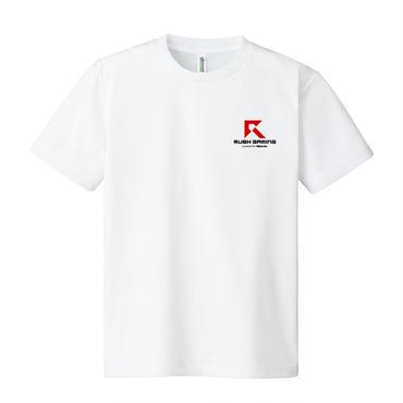 Rush Gaming ドライTシャツ(ホワイト)