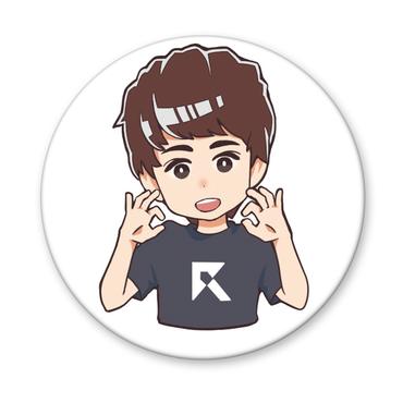 Rush Gaming メンバー 缶バッジ(GP)