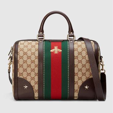 グッチ GUCCI TOTE BAG トートバッグ ショルダーバッグ ボストンバッグ メンズ レディース 2018新品 ハンドバッグ 手提げバッグ プリント 通勤 旅行鞄