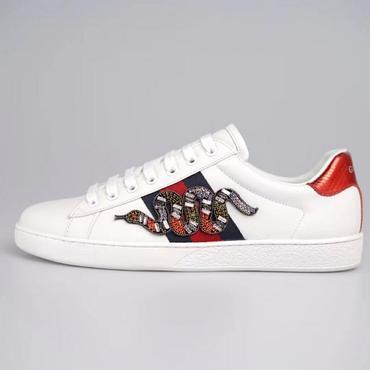 GUCCI グッチ スニーカー 運動靴 メンズ レディース シューズ ペアルック靴 みつばち刺繍 男女兼用靴 ユニセックス