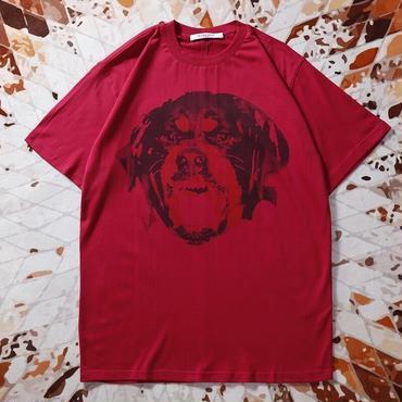 (ジバンシィ) GIVENCHY 半袖Tシャツ CUBAN FIT シャークプリントブラック