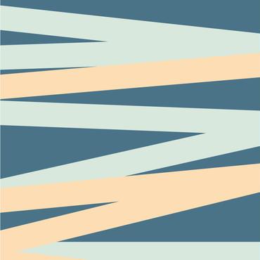 【切り売り:1m単位で販売】 BORDER(ネイビー) EASY2WALL by WhO