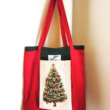 クリスマス/ツリー/エコバッグ