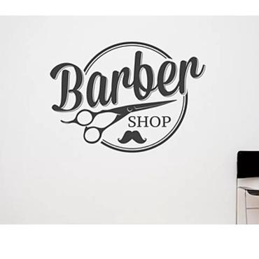 Barber shop  Scissors ステッカー