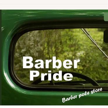 Barber Pride sticker